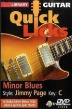 Lick Library - Quick Licks - Jimmy Page Minor-Blues