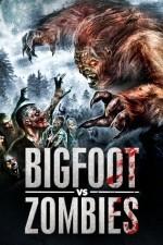 Bigfoot Vs Zombies